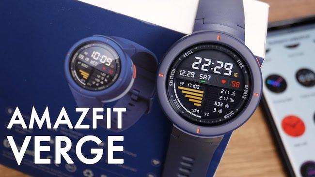 Обзор смарт-часов Amazfit Verge