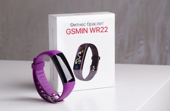 Обзор GSMIN WR22 - фитнес-браслет с измерением давления и пульса