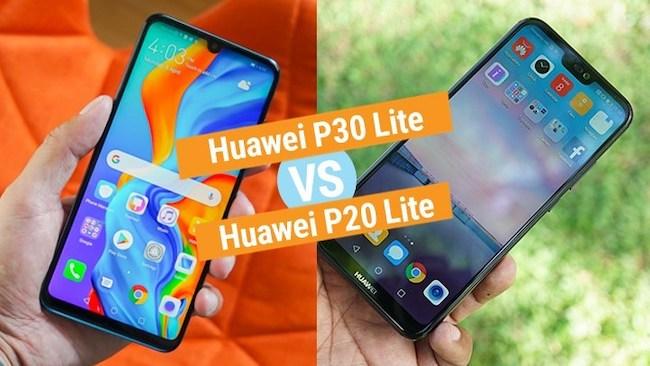 Сравнение Huawei P30 Lite vs Huawei P20 Lite