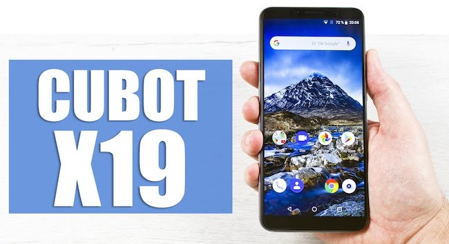 Смартфон CUBOT X18 PLUS - 4+64GB и 20MP камерой