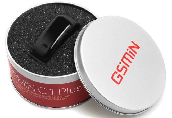 GSMIN C1 Plus - смарт браслет с измерением давления и пульса