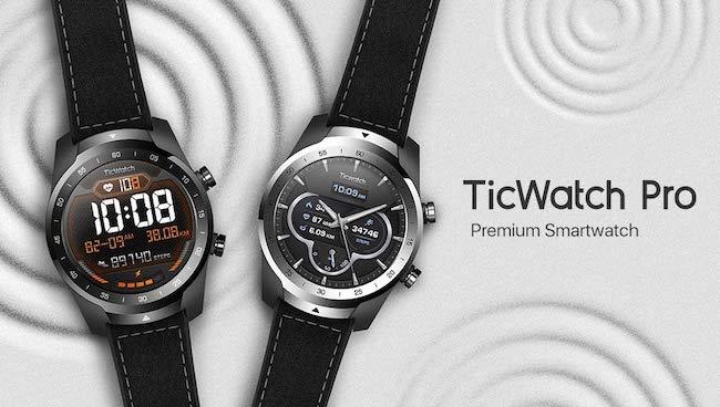 Фитнес часы Ticwatch E2 от Мobvoi на Google Wear OS