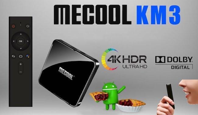 Обзор Android TV BOX Mecool KM3 с голосовым управлением