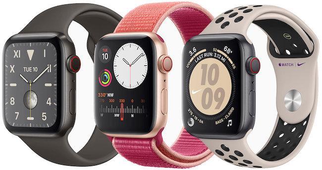 Чем отличаются Apple Watch 3 от Series 5