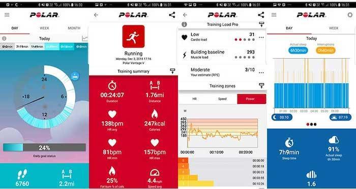 Обзор часов Polar Vantage V для профессиональных спортсменов