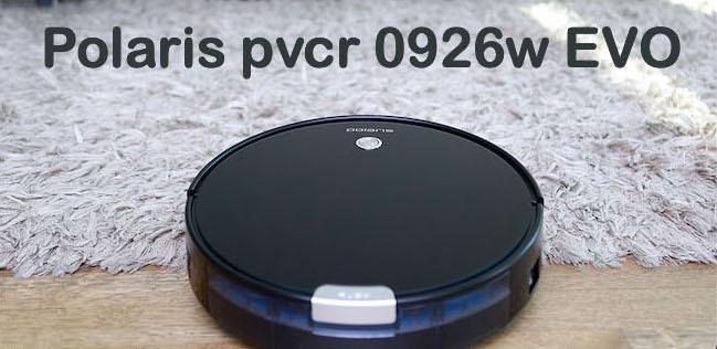 Робот-пылесос Поларис PVCR 0926W EVO с влажной уборкой