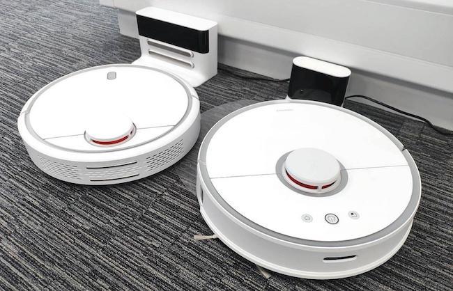 Сравнение xiaomi mi robot Vacuum 1st и roborock s50 Smart Robot Vacuum Cleaner