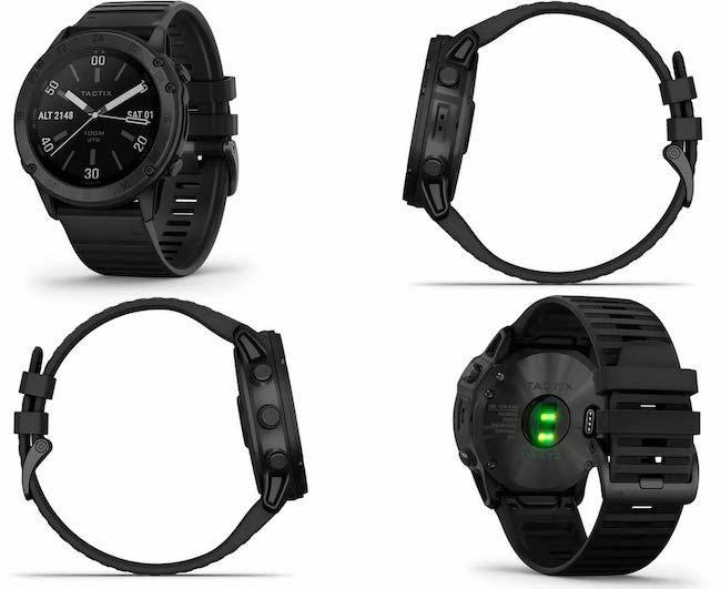 Garmin Tactix Delta - тактические мультиспортивные смарт-часы