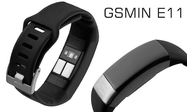 Фитнес браслет GSMIN E11 с измерением давления, пульса и ЭКГ