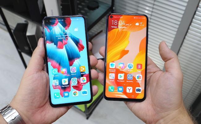 Сравнение Honor 20 Pro vs Huawei Nova 5T