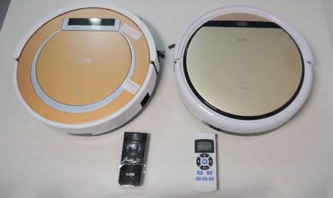 Сравнение роботов-пылесосов iLife V55 и iLife V5s