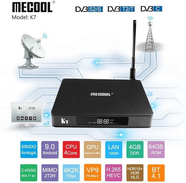 Обзор Смарт ТВ приставки Mecool K7