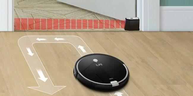 Виртуальная стена для робота-пылесоса