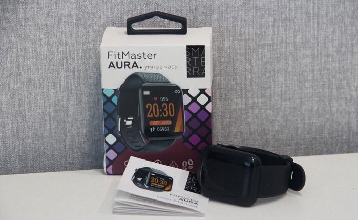 Обзор умных часов Smarterra FitMaster Aura