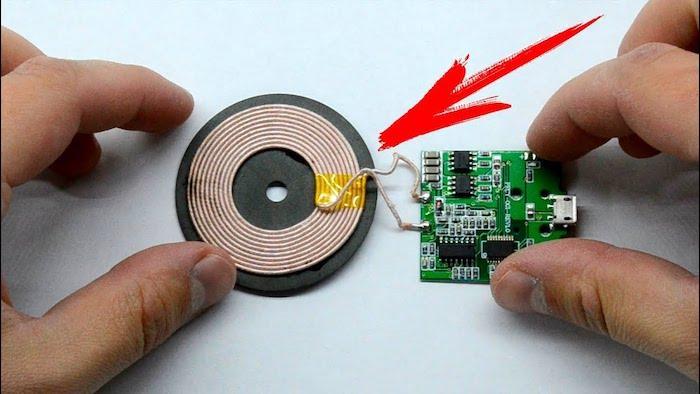 Беспроводная зарядка для телефона: как сделать своими руками