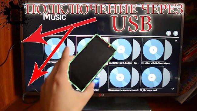 Как подключить телефон к телевизору через USB кабель - Подключение смартфона к телевизору за 5 минут