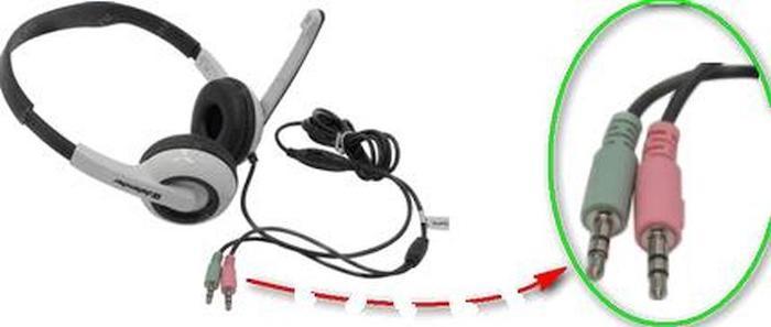 Как к компьютеру подключить гарнитуру от телефона: микрофон и наушники — пошаговая инструкция