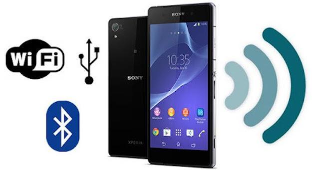Подключение Sony Xperia к компьютеру при помощи Wi-Fi и USB