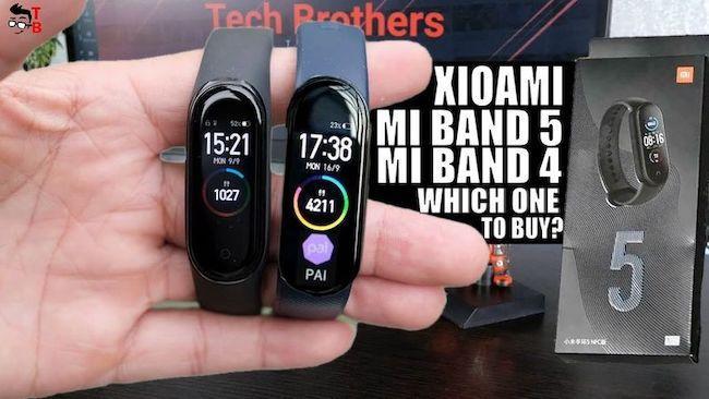 Полное сравнение Xiaomi Mi Band 5 и Mi Band 4 – стоит ли переходить