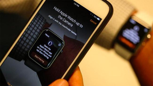 Как создать пару между часами Apple Watch и новым устройством iPhone